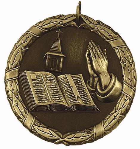 religious xr series medal