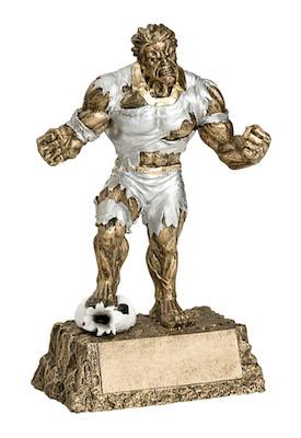 soccer monster resin