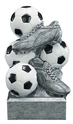 soccer sport bank resin
