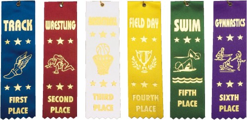 Stock Sports Ribbons