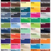 T-Shirt Colors Index