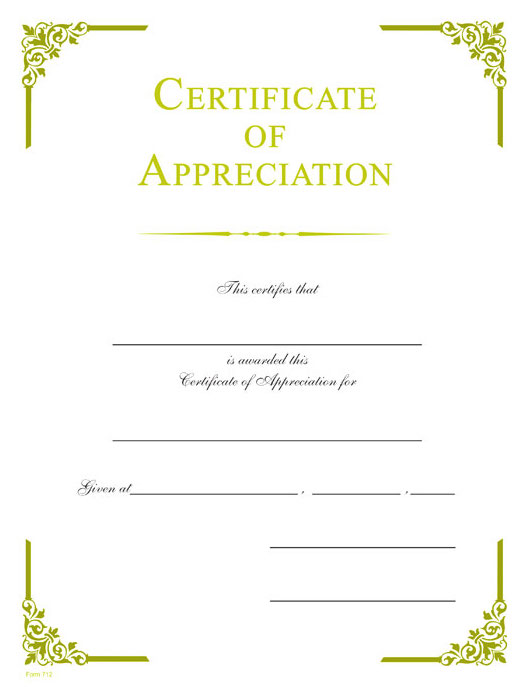 Appreciation gold foil certificate wilson awards appreciation gold foil certificate yadclub Image collections