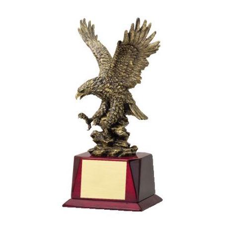 antique gold eagle rosewood