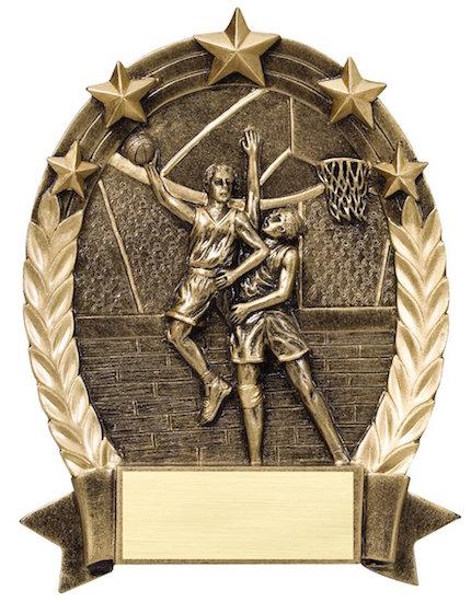 male basketball 5 star resin