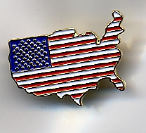 us flag pin #6