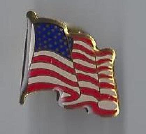 us flag pin #11