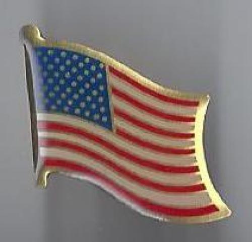 us flag pin #12