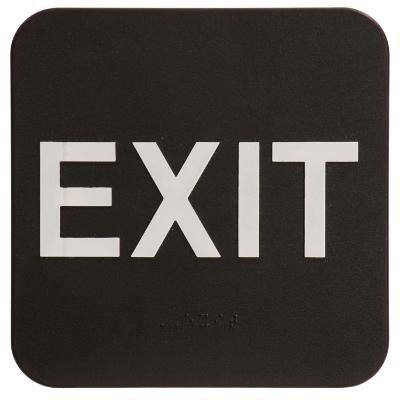 Exit ADA Sign Black