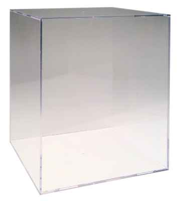 acrylic helmet display case