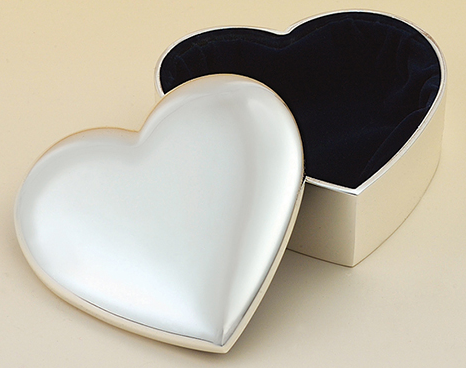 heart jewelry box