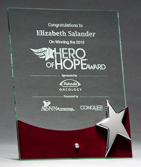 rosewood glass award