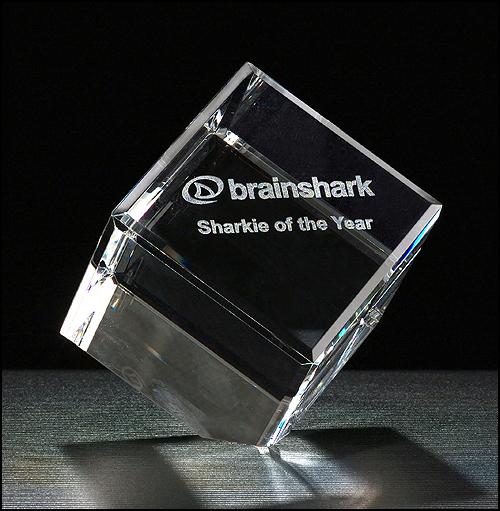 cube series crystal award
