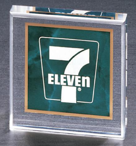 emerald paperweight