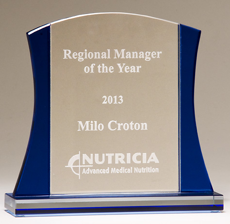 premium series glass award