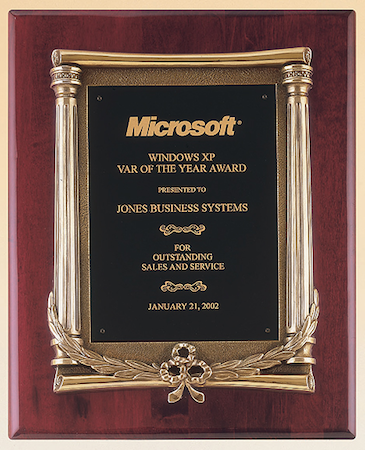 P38 Plaque with Pillar Frame – Wilson Awards