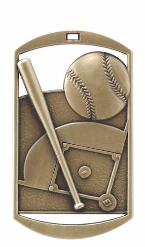 baseball dt series medal