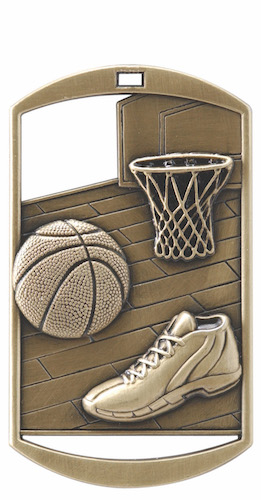 basketball dt series medal