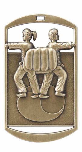 karate dt series medal