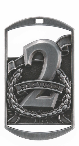 second place dt series medal