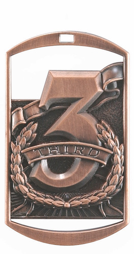 third place dt series medal