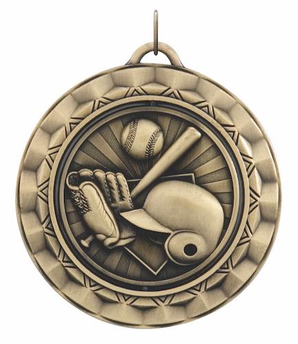 baseball 360 series medal