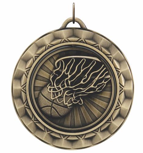 basketball 360 series medal