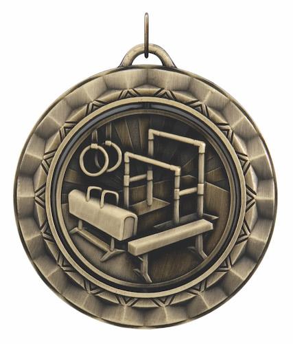 gymnastics 360 series medal