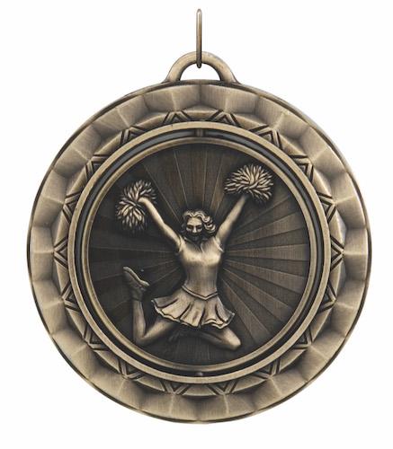 cheerleading 360 series medal