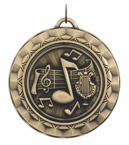 music 360 series medal