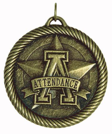 attendance value medal