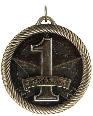first place value medal
