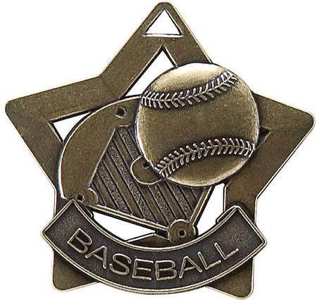 baseball star medal