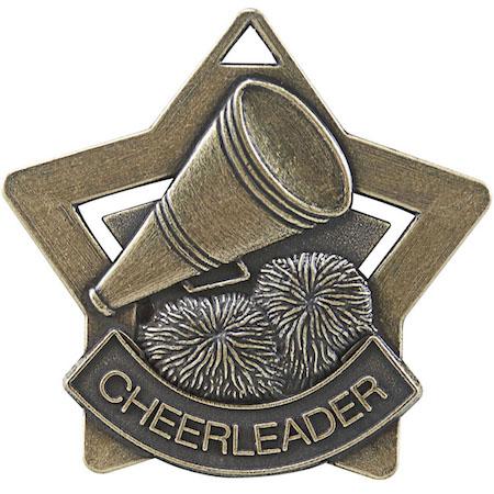cheerleader star medal
