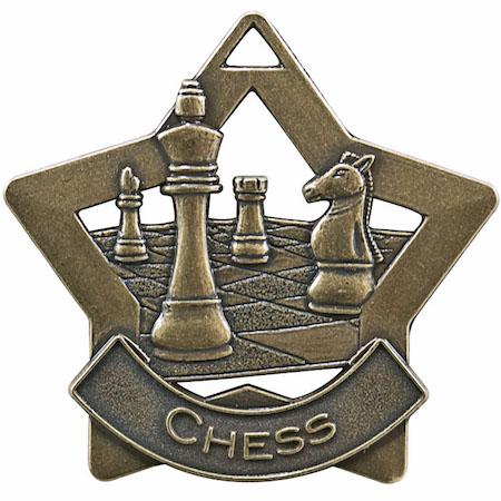 chess star medal